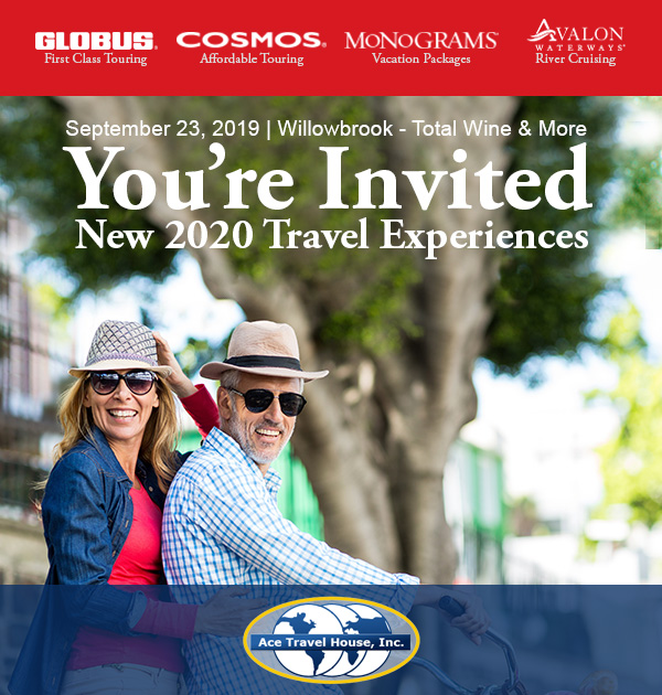 ACE Travel House - You're Invited!
